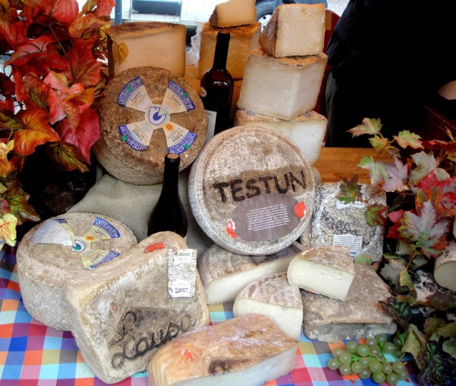 Käsesorten aus der Region Piemonte