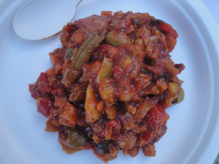 Merenda Sinòira - Antipasto piemontese di verdure