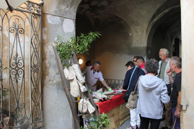 Das Bresaola Fest in Chiavenna