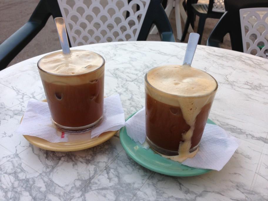 Der Caffé in Ghiaccio aus der Region Salento