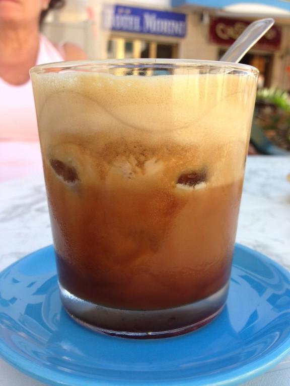 "Der Caffé ""soffiato"" ist cremiger"