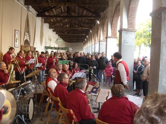 Musik auf der Trüffelmesse in Moncalvo