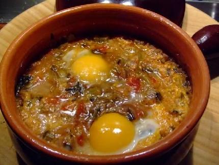 Acqua Cotta mit Gemüse und Eier