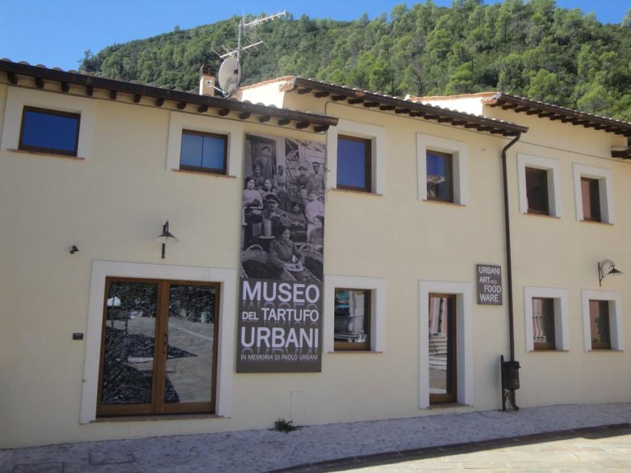 Das Trüffelmuseum in Scheggino