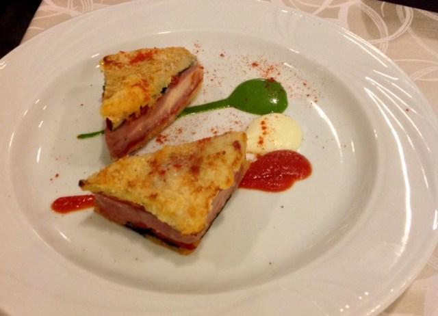Mc Lasagna, eine Erfindung von Vittorio Fusari
