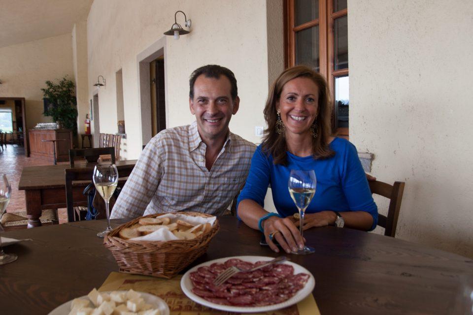 Giulio und Lucia Barzanò, Weingut Il Mosnel