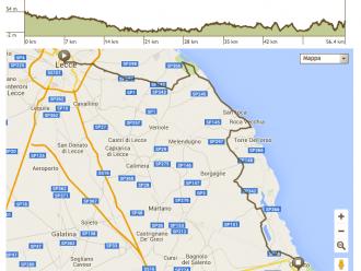 Apulien Fahrradtour Route 1. Tag