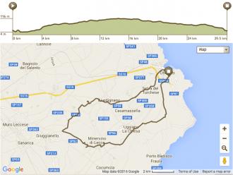 Apulien Fahrradtour Route 2. Tag
