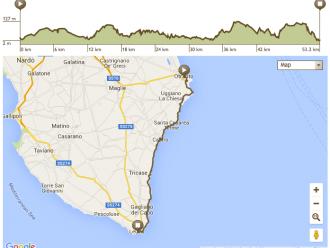 Apulien Fahrradtour Route 3. Tag