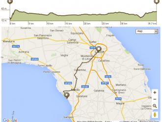 Apulien Fahrradtour Route 7. Tag