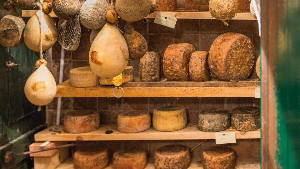 Der Käsekeller von Lillino in Ceglie Messapica