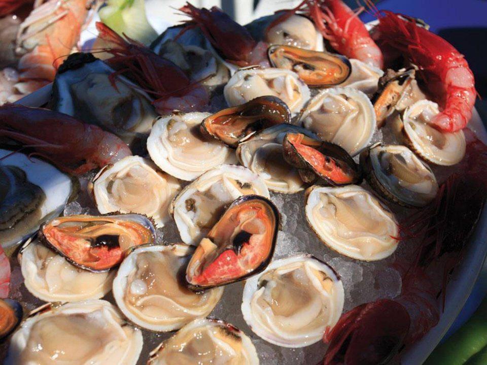 Meeresfrüchte Antipasto