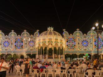 Volksfest in Melendugno, bei Lecce
