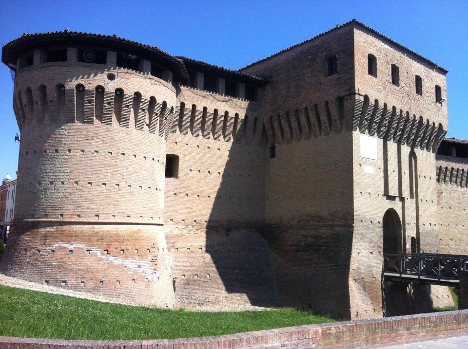 Rocca Sforzesca in Dozza, Sitz der Enoteca Regionale