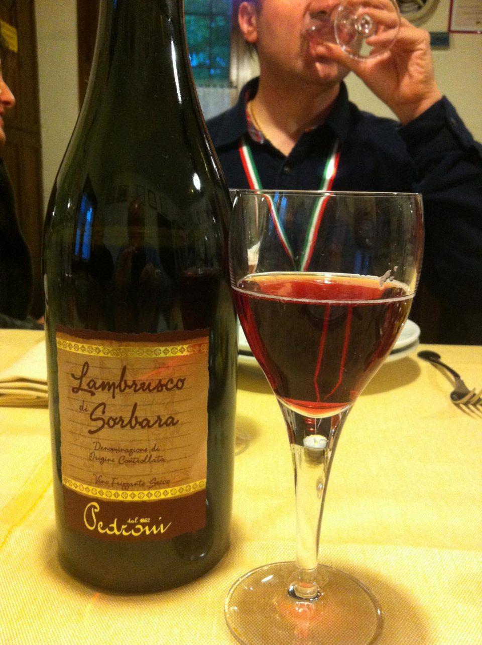 Emilia-Romagna - DOC Lambrusco Wein