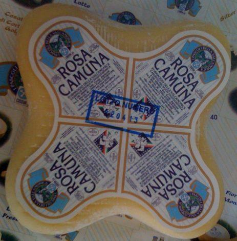 """Rosa Camuna"" Käse"