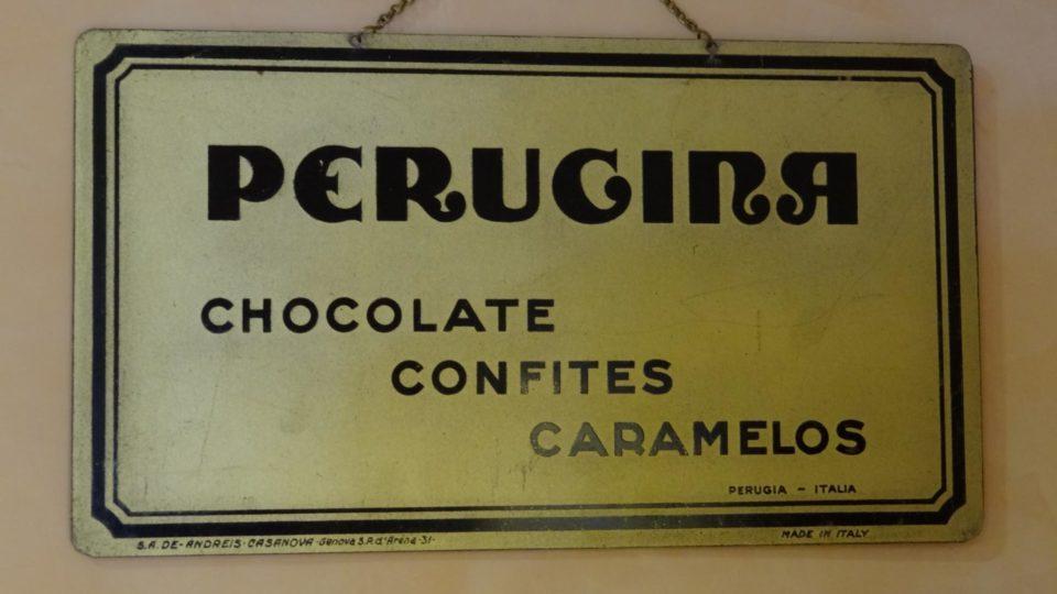 Perugina Schokoladenfabrik aus Perugia