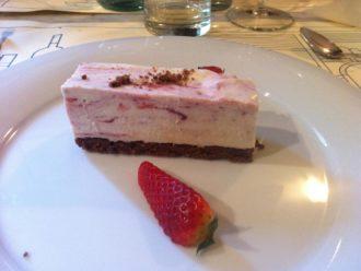 Nachtisch beim Slow Food Restaurant von Arek in Perugia