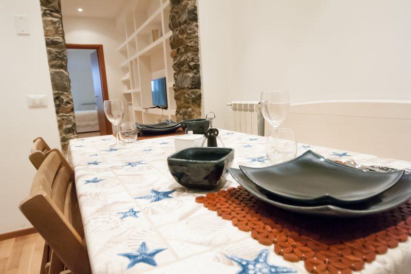 Das Appartment - Die Küche
