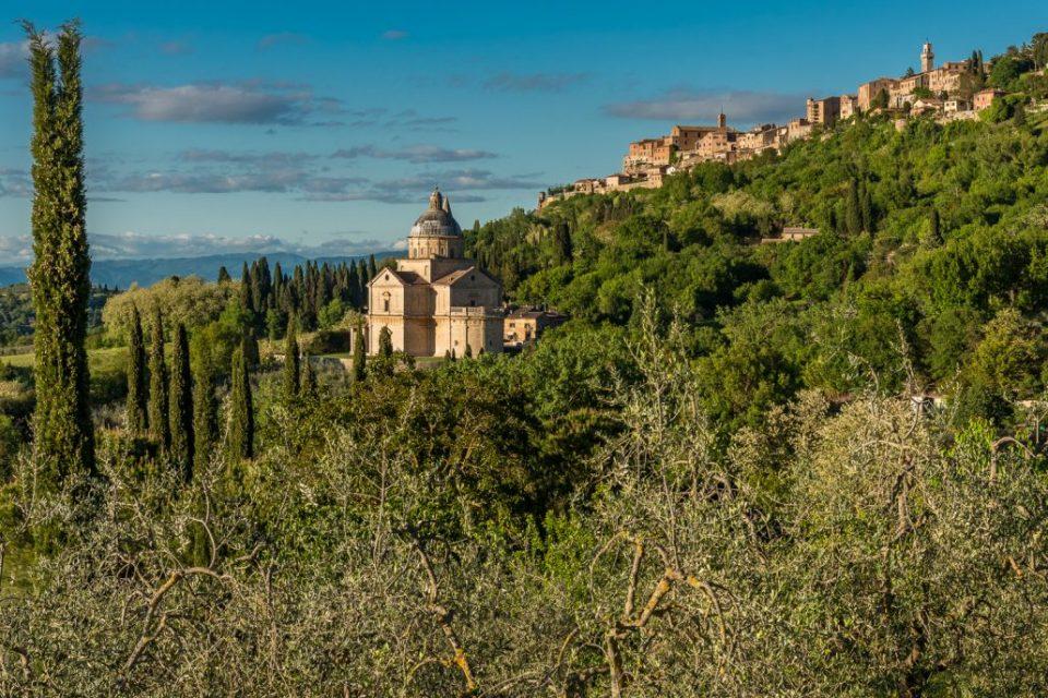 Montepulciano in der südlichen Toskana