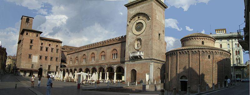 """MANTOVA """"Piazza delle erbe"""""""