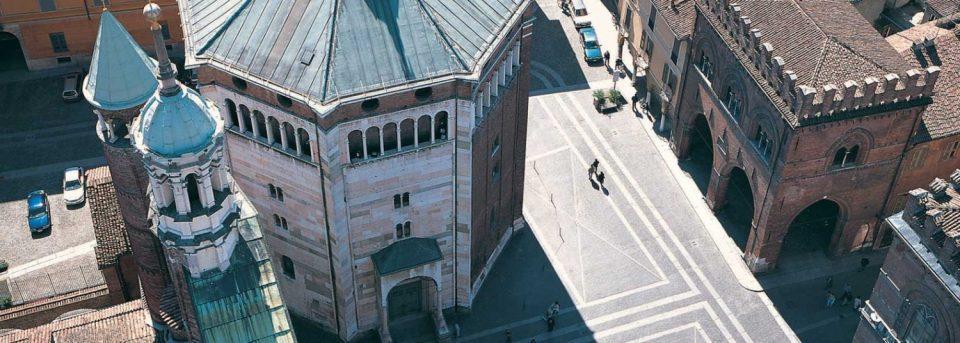 Cremona, das mittelalterliche Baptisterium