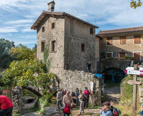 Campo, alter Weiler am Gardasee, ideal für ein Mittagsrast
