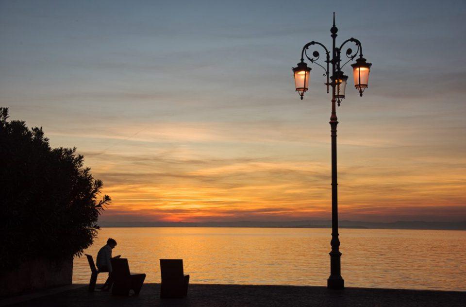 In Lazise den Sonnenuntergang erleben, es gibt kaum romantischere Momente