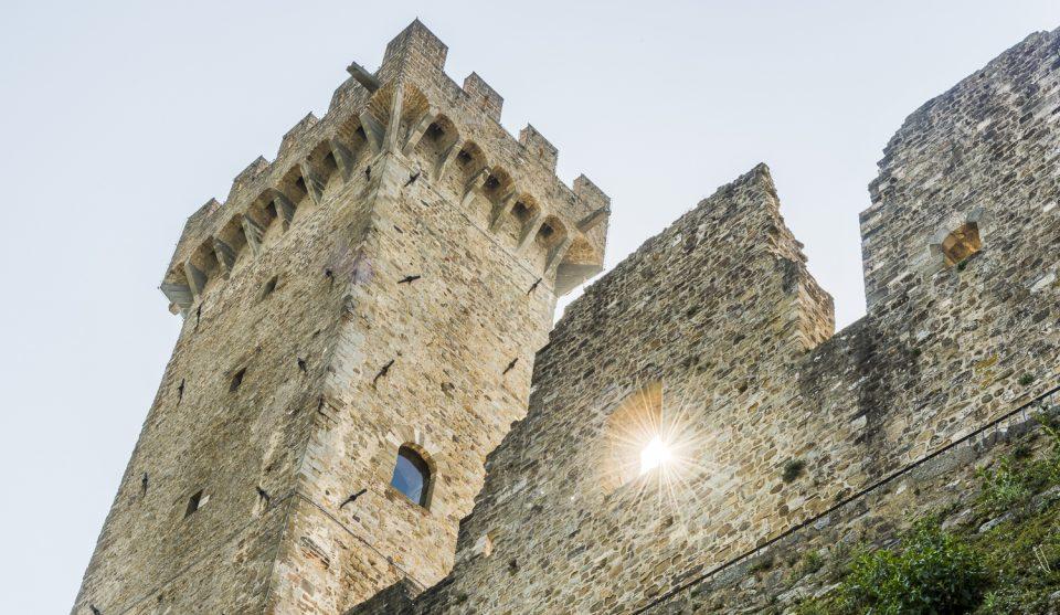 Schloss in der Lunigiana