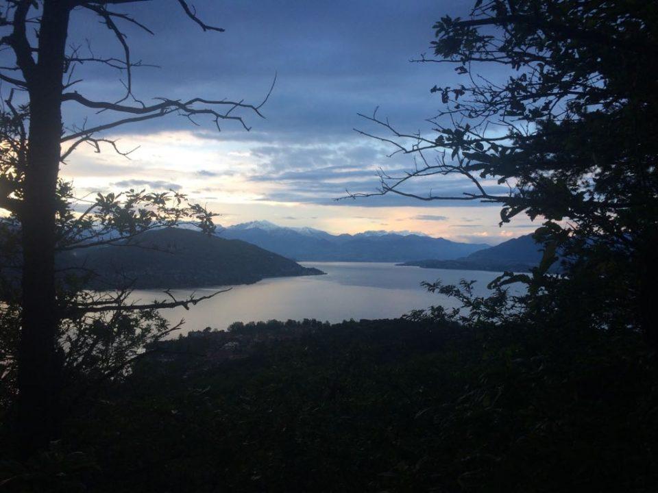 Abendstimmung Lago Maggiore