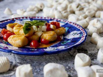 Hotel Bacco in Furore: Abendessen