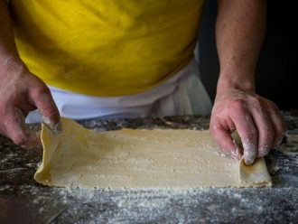 Hotel Bacco in Furore: frische Pasta
