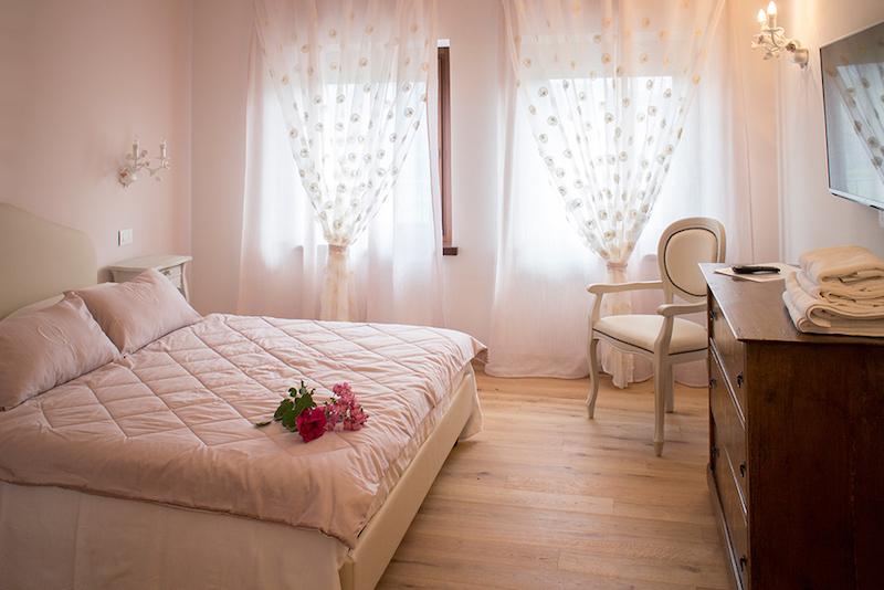 Unterkunft - Doppelzimmer Rosa