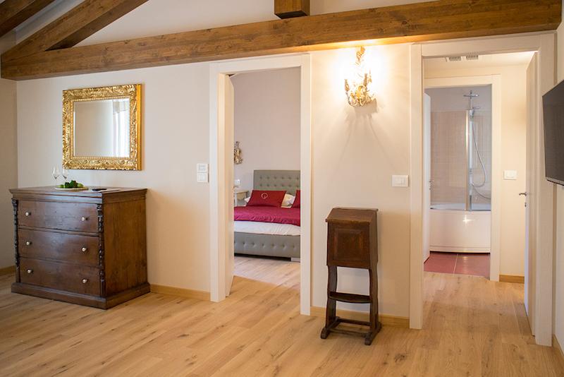 Unterkunft - Familienzimmer Ciliegi