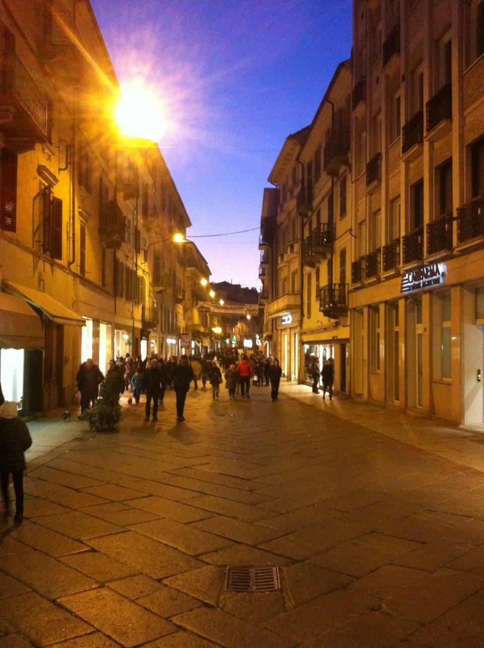 Bummeln in Asti