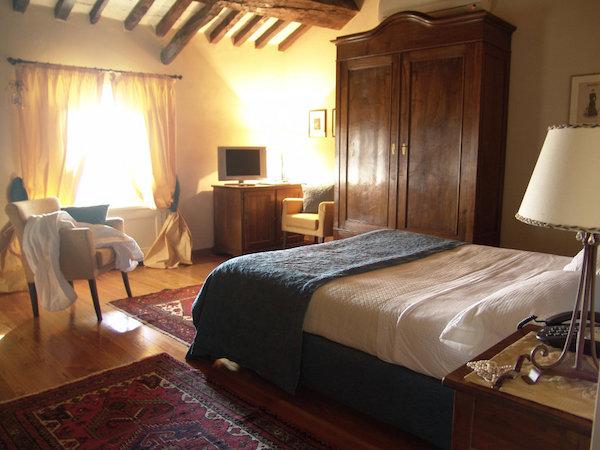 Doppelzimmer im Castello di Razzano