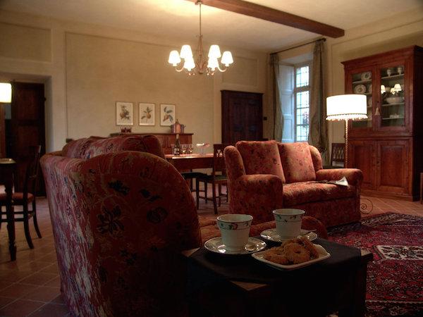 Wohnbereich in der Superior Suite