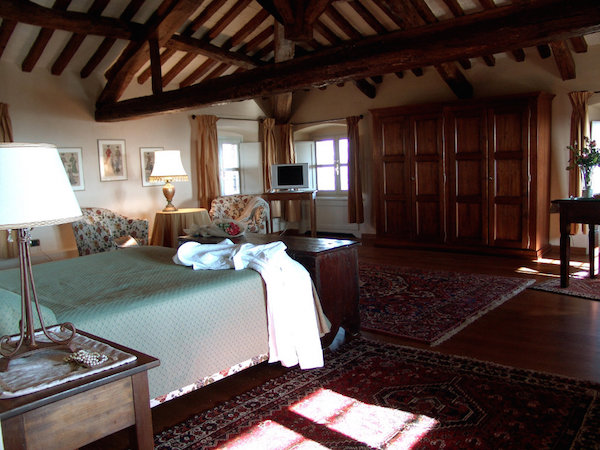 Superior Suite im Dachgeschoss