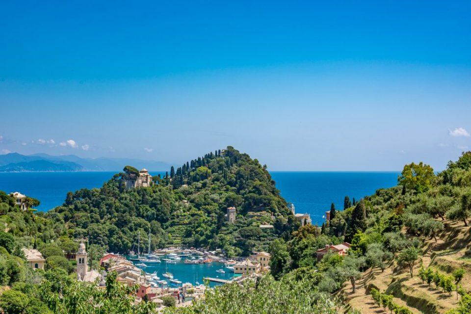 Ausblick Portofino