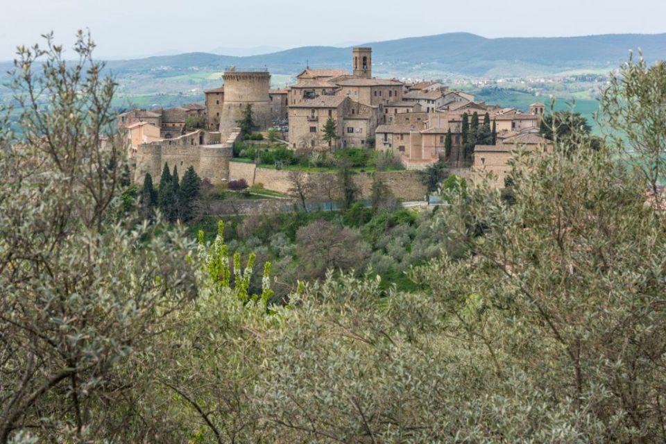 Gualdo Cattaneo - Burg