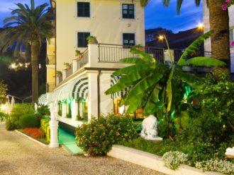 Hotel Villa Argentina - Der Garten
