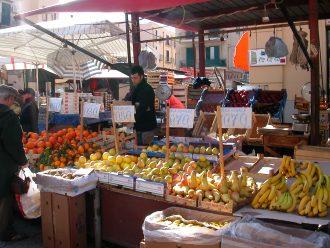 Palermo, Strassenmarkt Ballarò