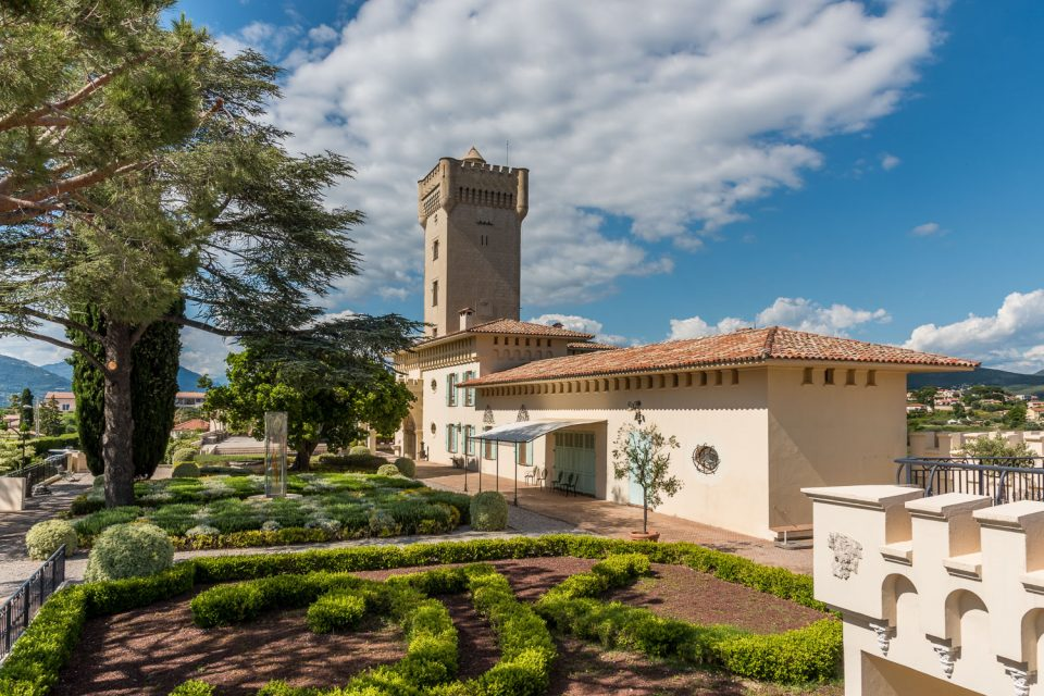 Chateau-Cremat-Garten