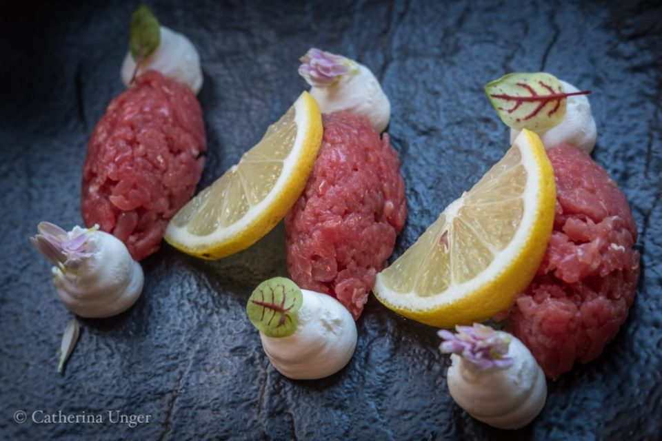 Tartar vom piemontesischen Rind