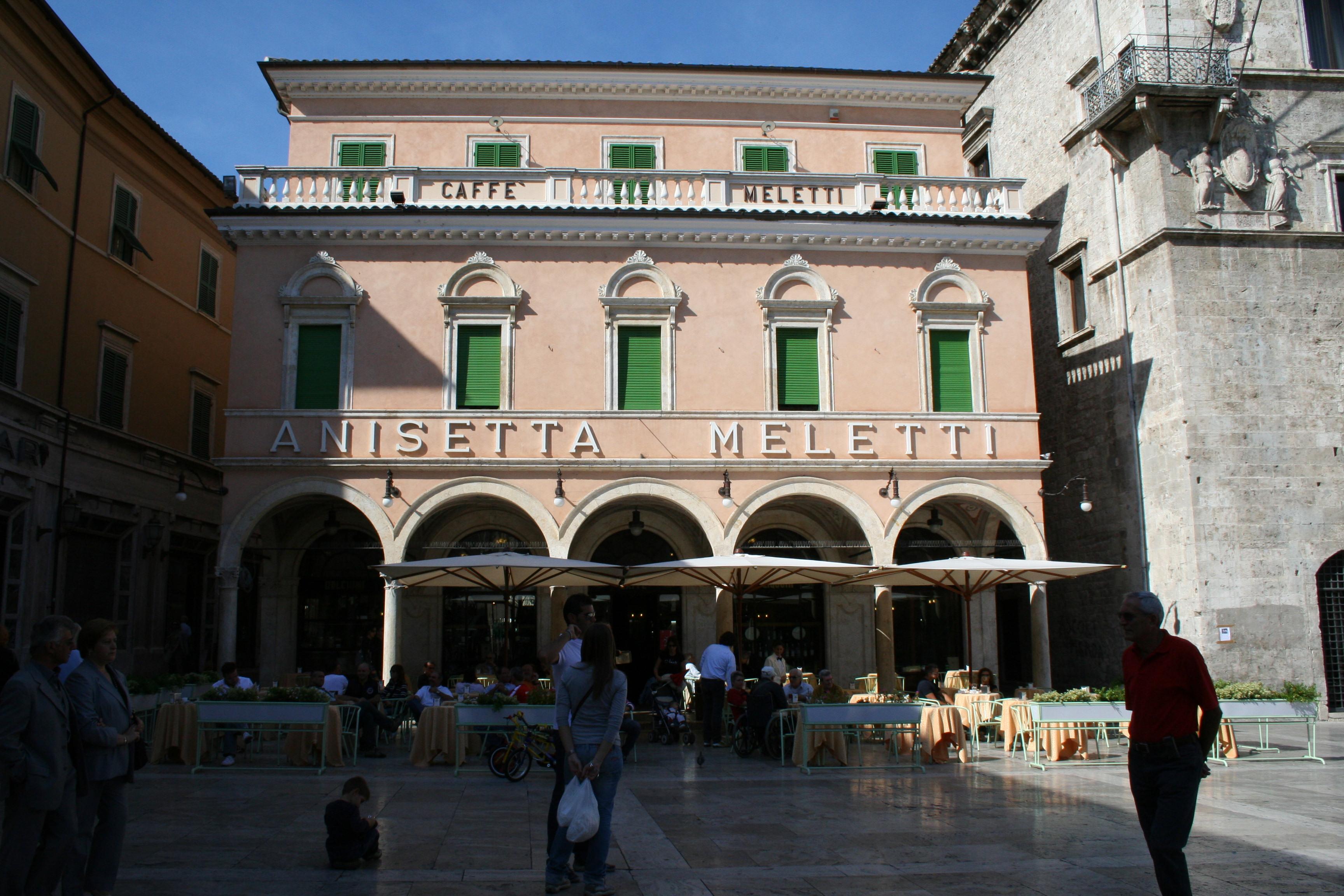 Caffé Meletti in Ascoli Piceno