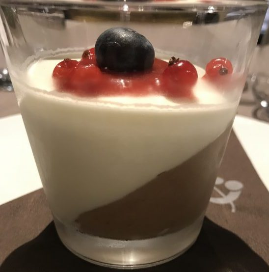 Hotel Plattenhof, Tramin - Zweifarbige Schokoladenmousse