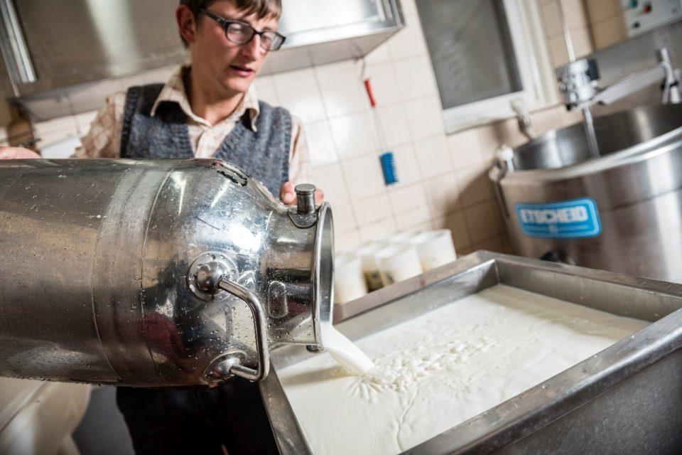 Milchverarbeitung ©Hannes Niederkofler