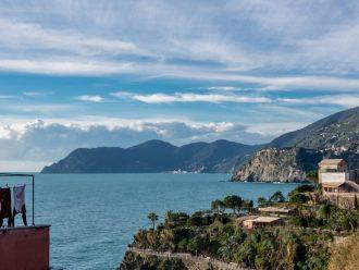 Ferienwohnung und Zimmer in Manarola mit Balkon und Blick über das Meer