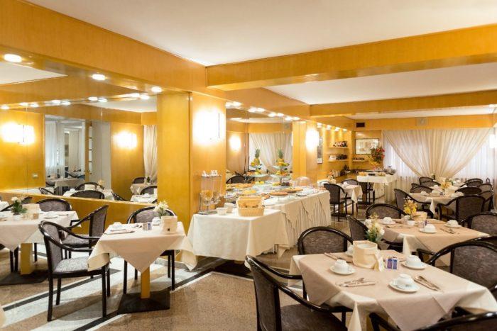 Hotel Libertà - Frühstücksraum