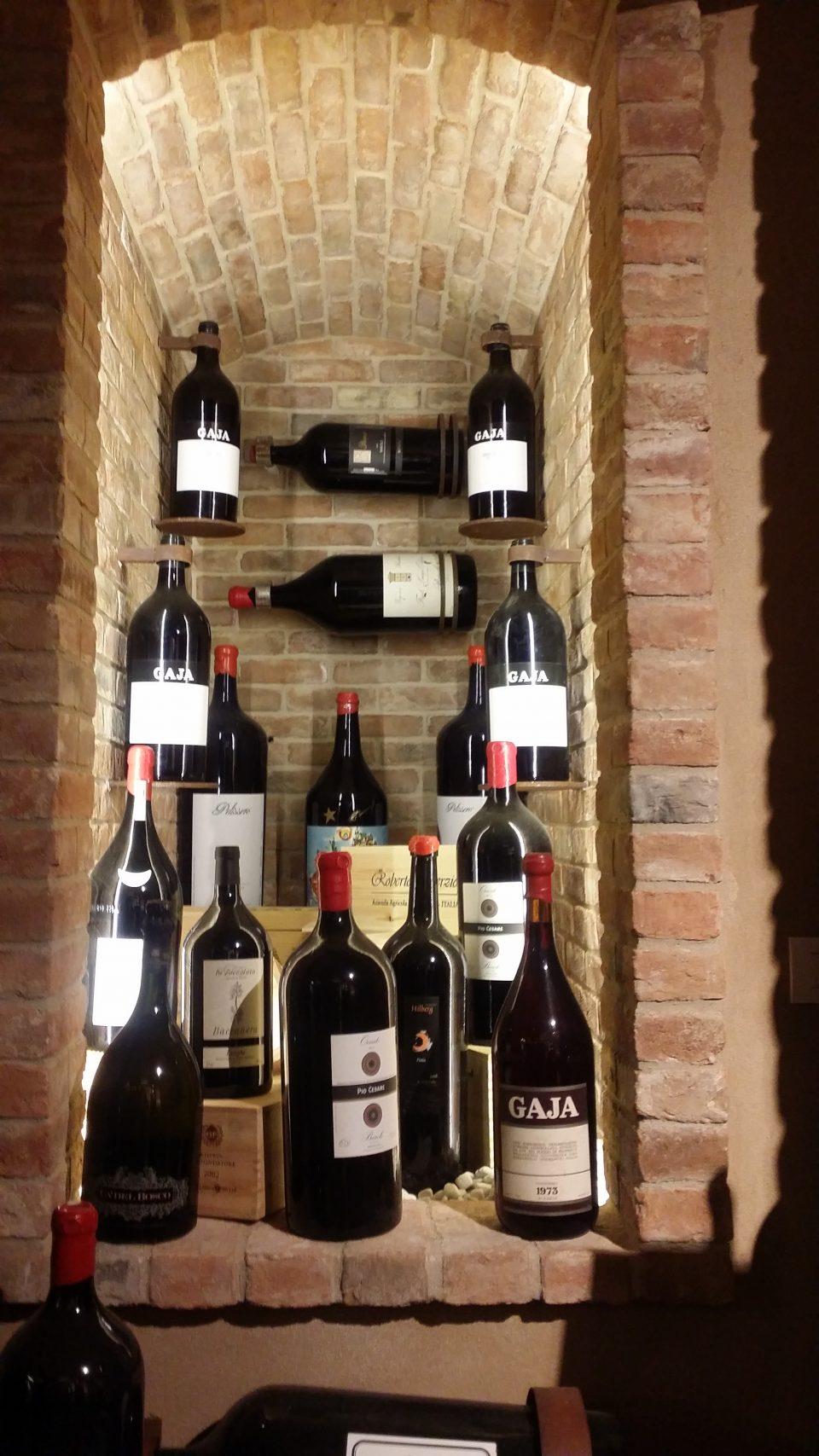 Barolo Weinflaschen